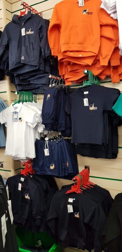 New Uniform Supplier - Maisies - Whitehouse Primary School